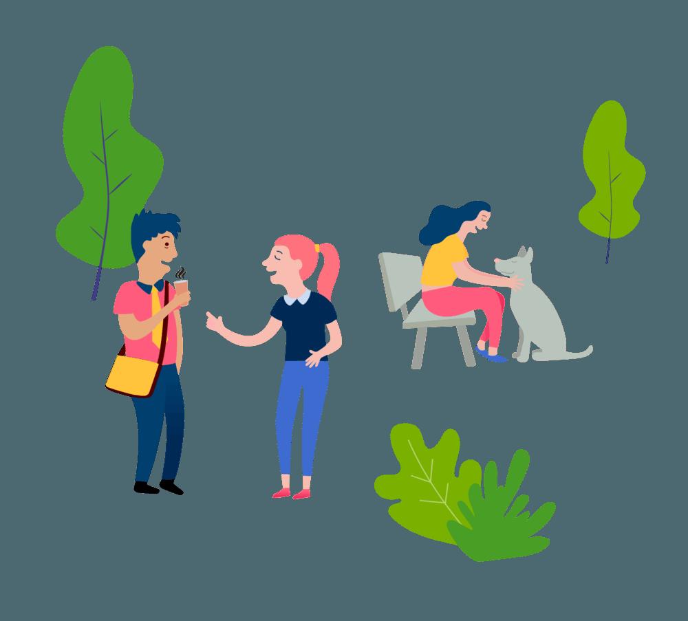 Illustrasjon kundeservice