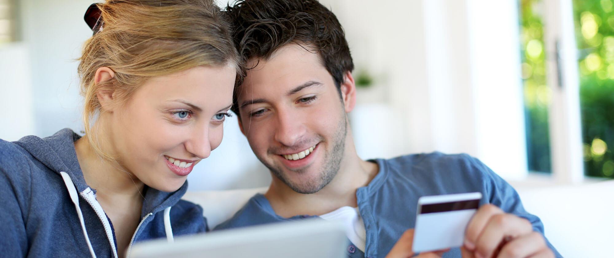 Par med kredittkort
