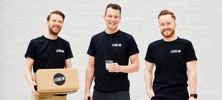 grunnleggerne og salgsjef i Leske