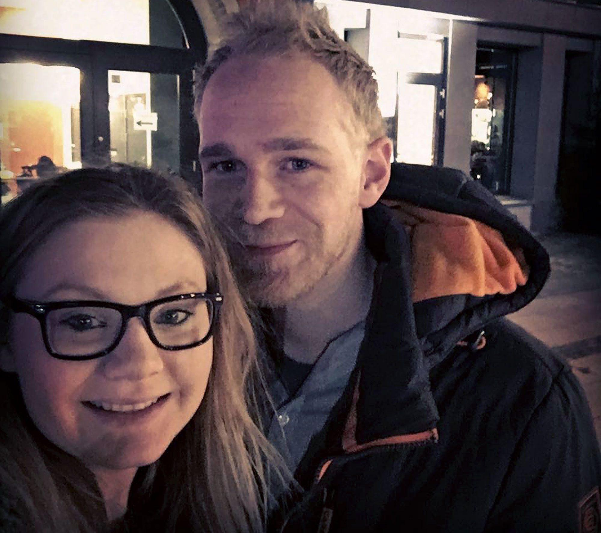 Veronica Aamland og Simen Forberg