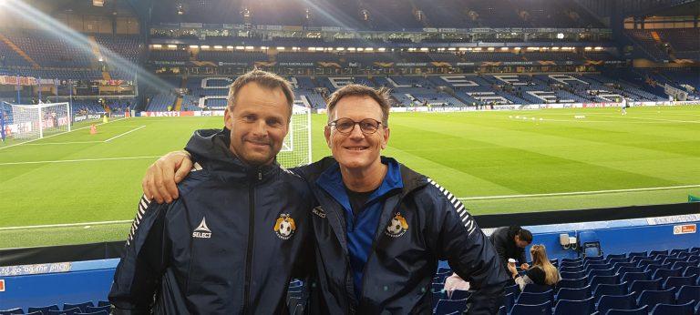 Bård Johannessen og Jon Knudsen