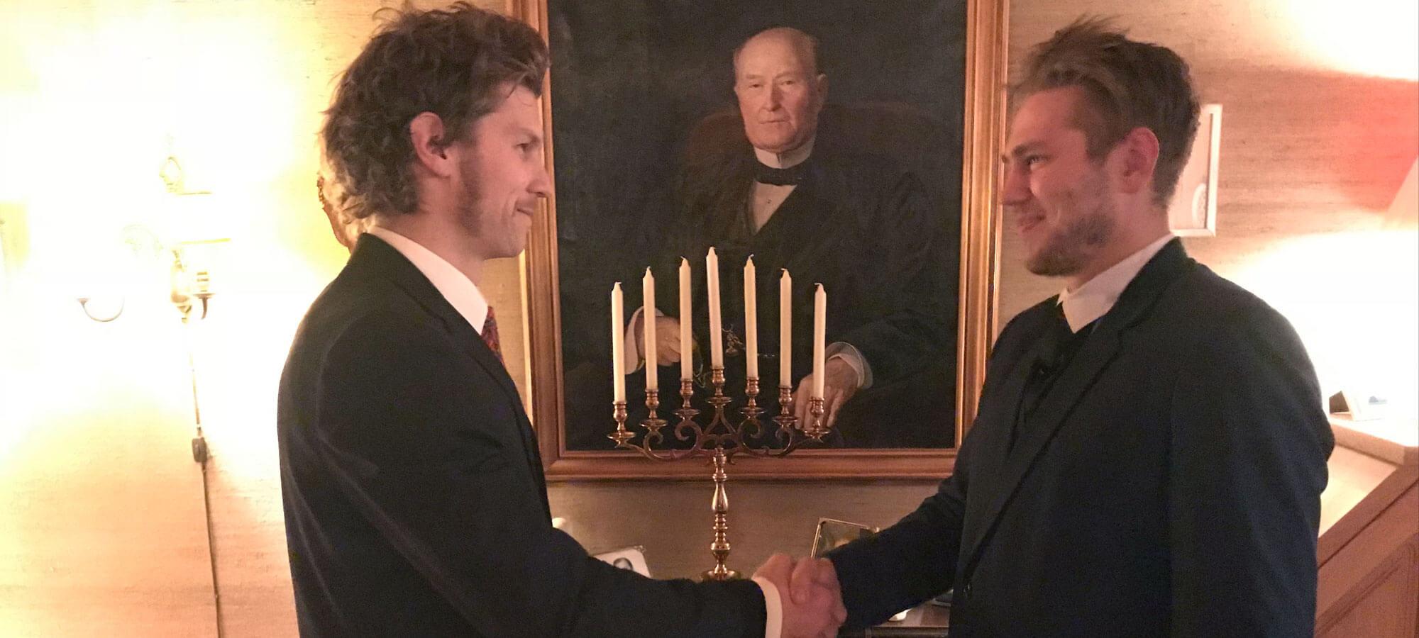 Erik Lønnum og Christoffer Askheim